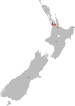 [Photo: map of new zealand with farm locations]