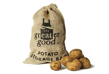 The Greater Good Hessian Sack