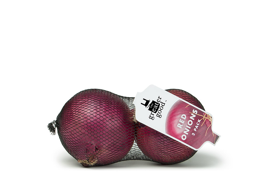 [Photo: The Greater Good Red Onions 2 Pack]